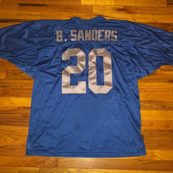 brand new 1acbb ba0ca Barry Sanders Mitchell & Ness Throwback Jersey
